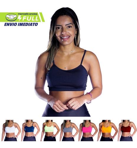 Top Fitness Academia De Alcinha Ginastica Com Bojo Oferta