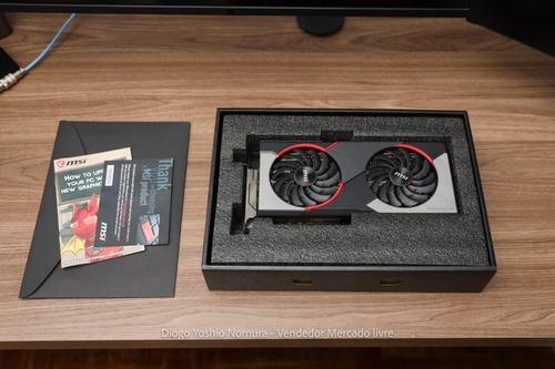 Placa De Vídeo Rx 5700 Xt - Nunca Usada Para Mineração