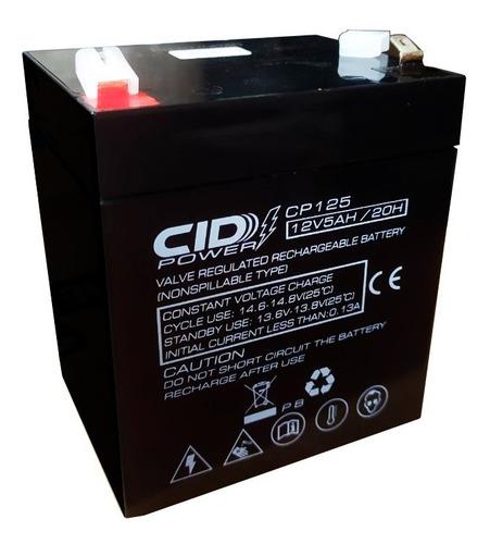 Bateria 12v 5ah Alarmas Cercos Electricos Ups Recargable