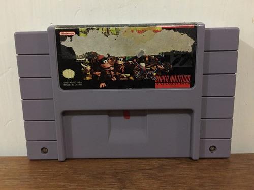 Donkey Kong Country 2 Para Super Nintendo / Snes Buen Estado