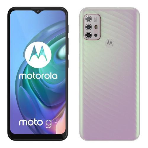 Smartphone Motorola Moto G10 Tl6.5 64gb 4gb Ram Brco Floral