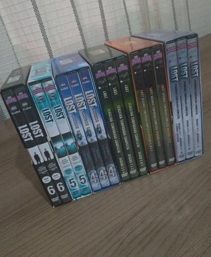 Box Dvd Lost Completo