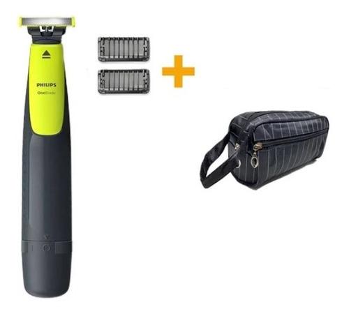 Aparador De Barba Philips Barbeador Oneblade Qp2510 + Bolsa