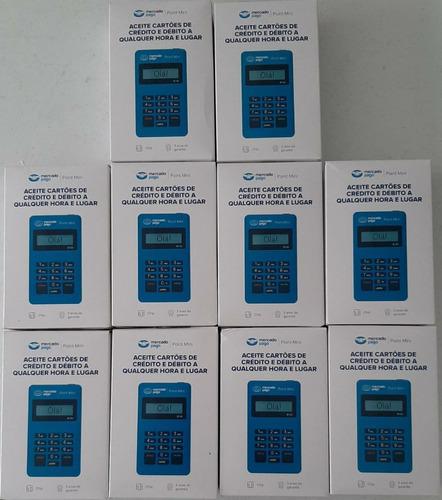 Kit Maquineta Point Mini Mercado Pago 10 Unidades - Só Hoje