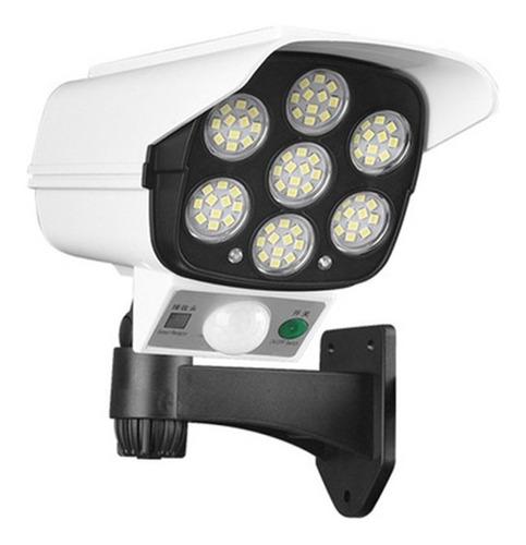 Luminaria Solar Camera Falsa Sensor De Proximidade 30w