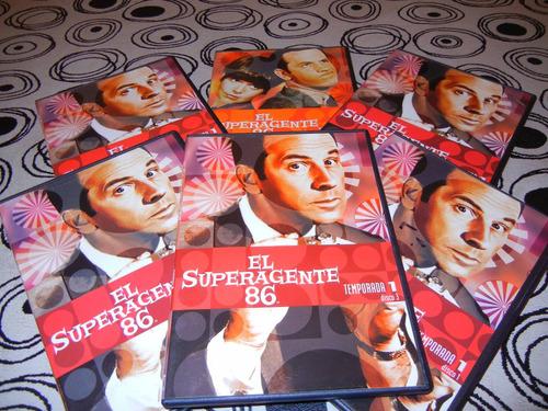 Dvd Originales Serie Super Agente 86