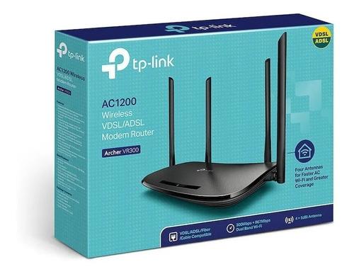 Router Archer Vr300  Wifi Tp Link Vdsl Adsl  Dual Band