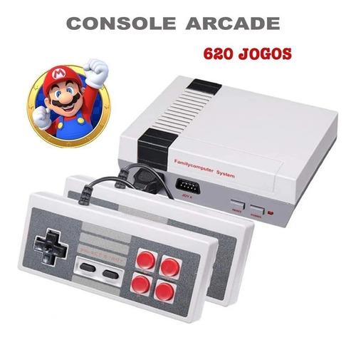 Video Game Retrô 620 Jogos C/ 2 Controles Console Clássico