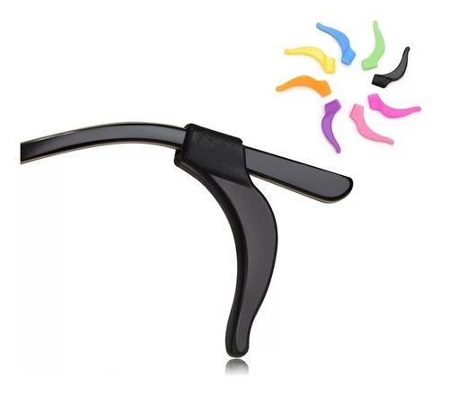 2 Pares Trava Gancho Silicone Para Óculos Várias Cores