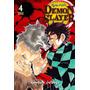 Manga Demon Slayer Kimetsu No Yaiba Vol. 4