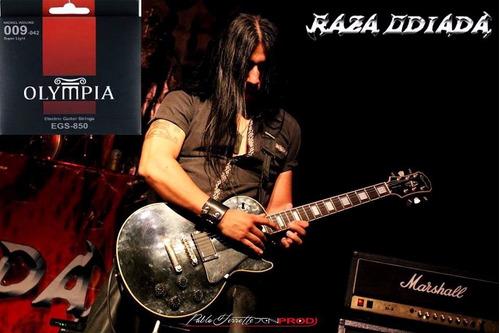 Encordado + Clase De Guitarra San Justo Metal Velocidad