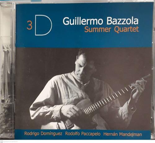 Cd Guillermo Bazzola - Summer Quartet Original