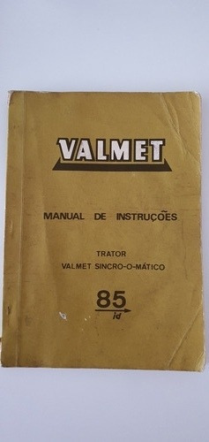 Manual De Instruções Do Trator Valmet Sincro-o-mático 85id
