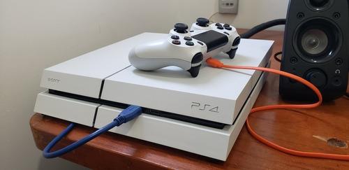 Playstation 4 Fat Branco Glacial