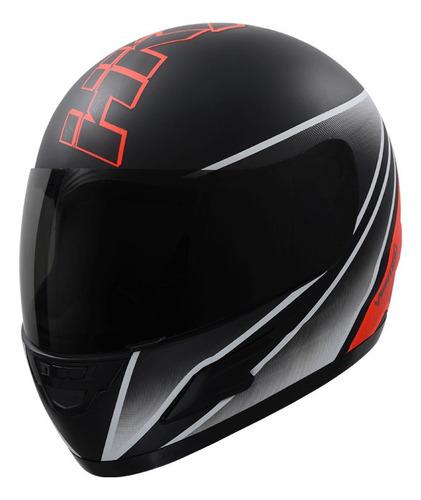 Casco Para Moto Integral Vértigo Hk7  Rojo Mate Talle L