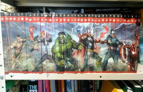 Coleção Os Heróis Mais Poderosos Da Marvel - Os Vingadores