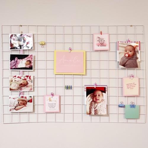Rejilla Organizativa, Decorativa. Color Blanco 95 X 65 Cm