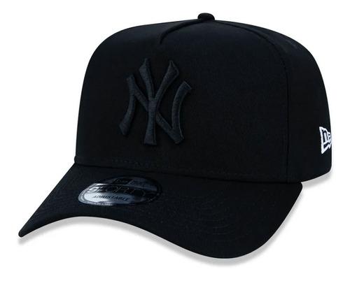 Boné New Era New York Yankees Aba Curva Ajustável