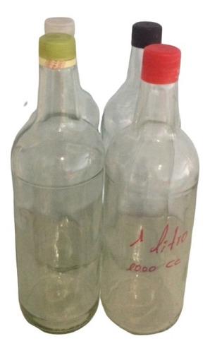 Botellas Y Frascos Reciclados De Vidrio