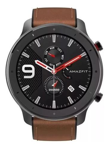 Relógio Smartwatch Amazfit Gtr 47mm Preto Alloy Gps Amoled