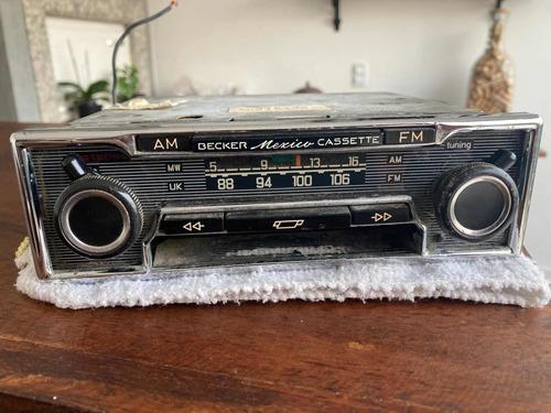 Radio Becker México Antigo, No Estado