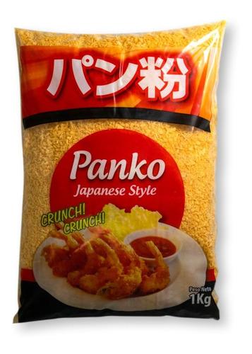 Panko Naranja 1kg Pan Rallado Estilo Japones Sushi Milanesa