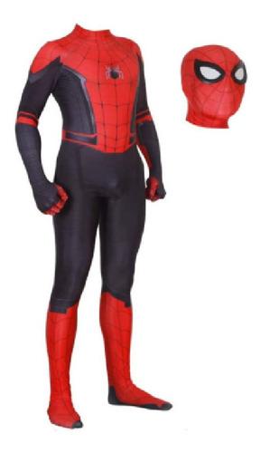 Fantasia Homem Aranha De Ferro Infantil Spider Cosplay