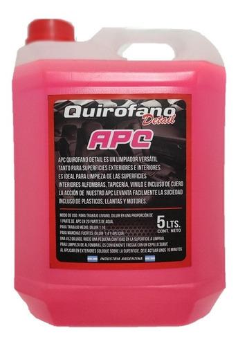 Quirofano Apc 5 L - Limpiador Multiproposito Desengrasante