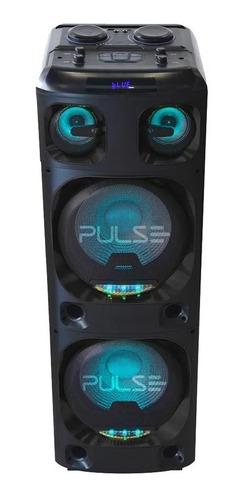 Caixa De Som Super Torre Double 15 4000w Pulse Sp1000