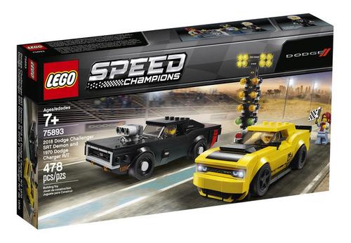Lego Speed Champion Dodge Challenger Demon 2018