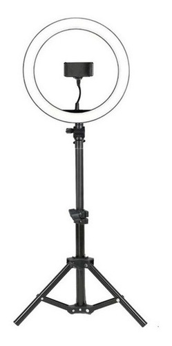 Ring Light Completo Iluminador Portátil 26cm+tripé