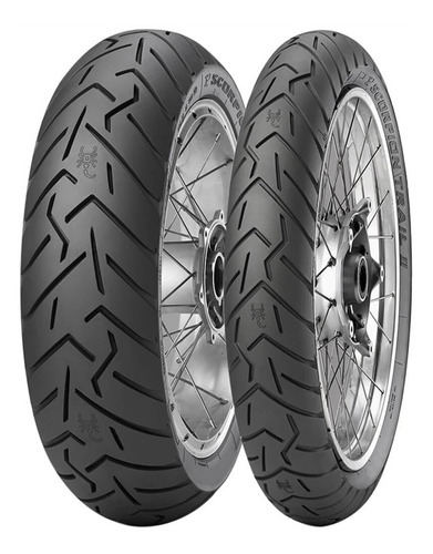 Kit De Pneus 190/55-17 + 120/70-17 Pirelli Scorpion Trail 2