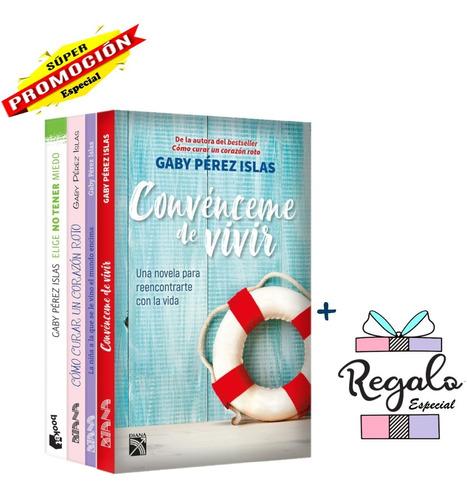 Paquete De 4 Libros - Gaby Pérez - Editorial Diana