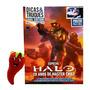 Revista Superpôster D&t Halo 20 Anos De Master Chief