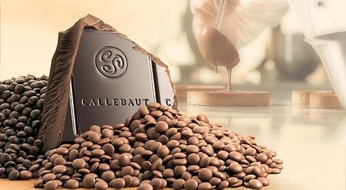 1 Kg Chocolate Amargo 70% Callebaut Sicao Reposteria Chef