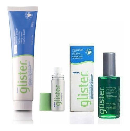 Kit De Higiene Bucal Glister Amway - Unidad a $5640