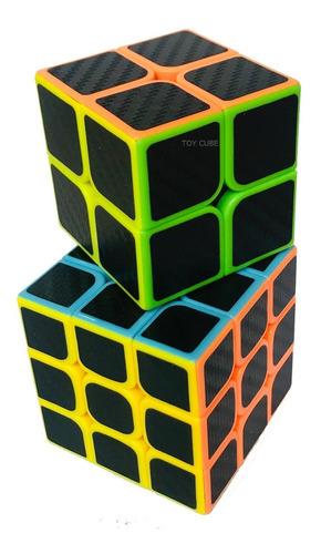 Cubo Magico 2x2+3x3 Profissional Speed Cube Zx
