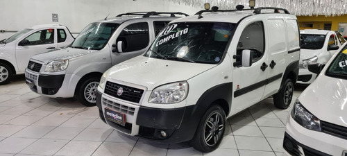 Fiat Doblo Cargo 1.8 2010 Branca Completa Quiksilver