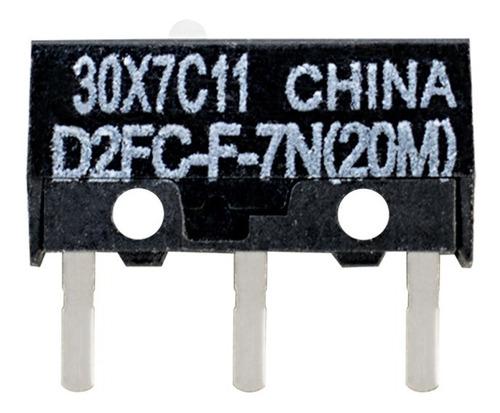 1 Pieza Micro Interruptor D2fc-f-7n (20m) Omron Raton Mouse