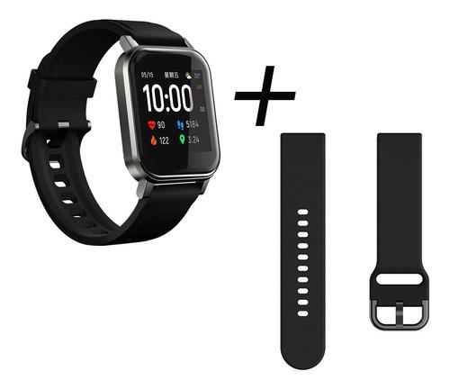 Relógio Inteligente Haylou Ls02+pulseira De Reposição