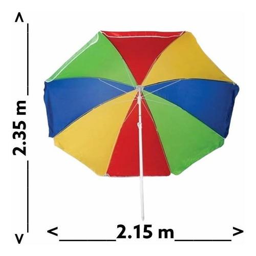 Parasol Sombrilla 2.25m De Altura