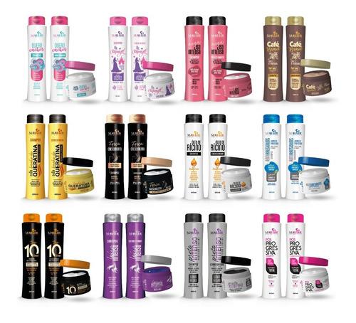 15 Produtos (5 Kits) Shampoo +  Condicionador + Máscara R1