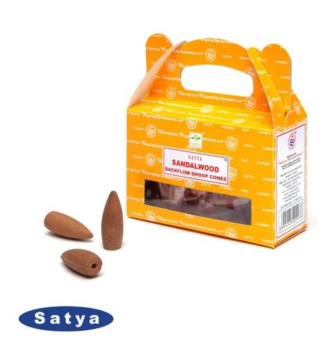 Incenso Satya Massala Backflow 24 Cones Efeito Cascata