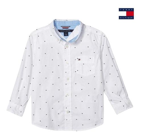 Camisa Tommy Hilfiger Baby Infantil Original - Bebê Menino