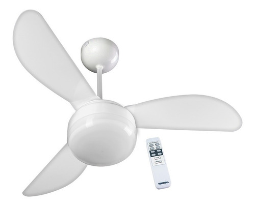 Ventilador De Teto Ventisol Fenix Com Controle Remoto - 127v
