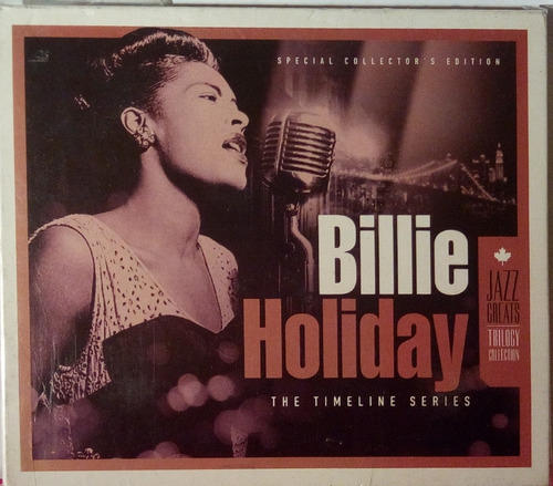 Cd Triple Billie Holiday  The Timeline Series