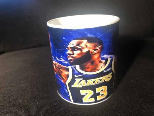 Taza Nba Lakers Lebron James Polimero