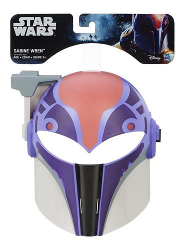 Mascara Sabine Wren Star Warsb7248/b3223 Hasbro