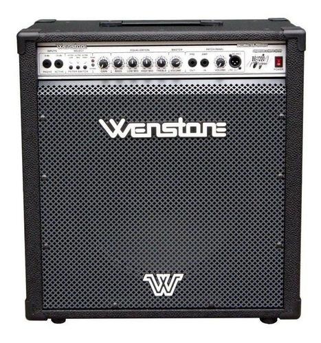 Amplificador Wenstone Be-1200 Combo 120w Negro 220v