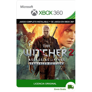 The Witcher 2 Enhanced Edition Xbox 360 Original Digital Lic